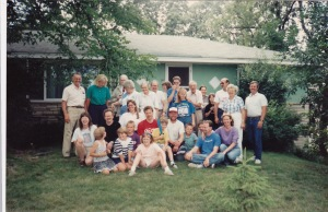 Hulstrand Family Together 1990